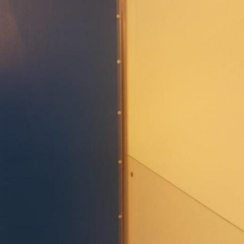 Bandseitenschutz für Innentüren bis Türblattstärke 50 mm