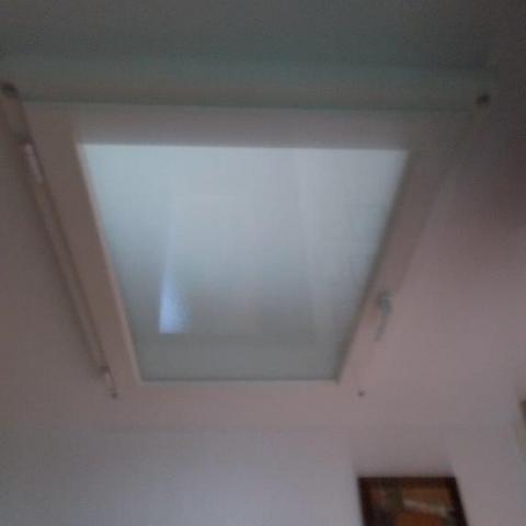 begehbares Deckenfenster für Beleuchtung TReppenhaus OG