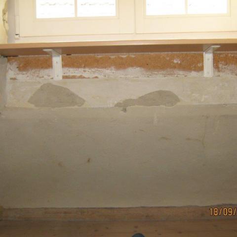 Massivholzfensterbänke Buche vorstehend oder auf Mauerwerk aufliegend