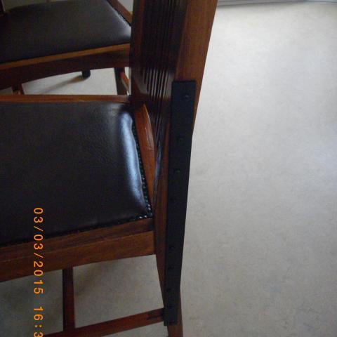 Funktionssanierung bei Stühlen mit hohem Andenken oder historischem Wert