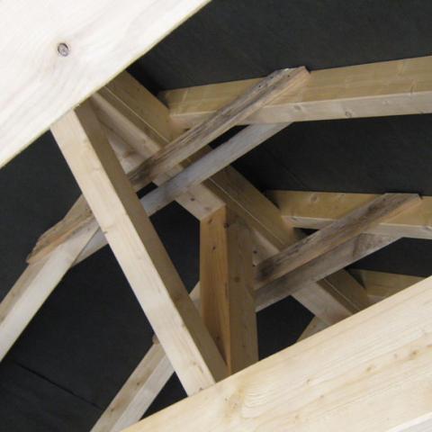 Dachstuhl neu CNC gefertigt