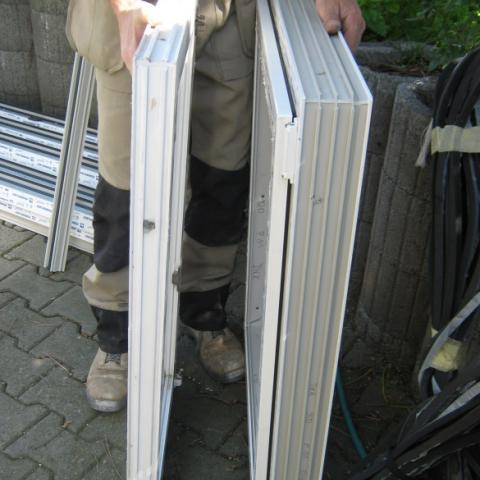 Unterschied zw. ausgebauter 2x und neuer 3x verglaster Fenstertechnik