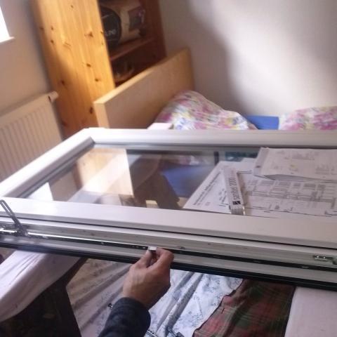 Beschlagswechsel bei Kunststofffenster;auch bei Holz und ggfs. Alu möglich